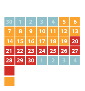 June Pricing Calendar