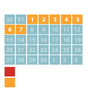 WTWP Calendar