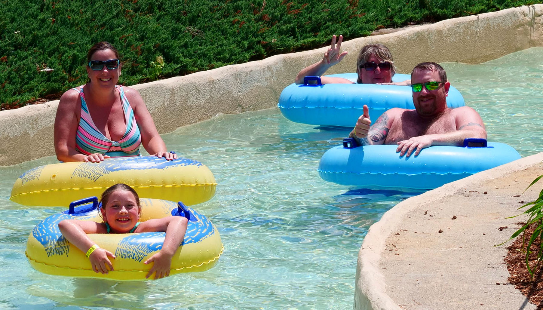Thumbs up to the Lazy River